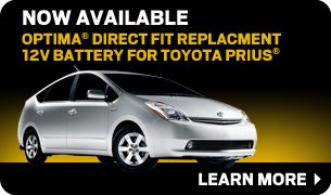 Prius Auxiliary Battery