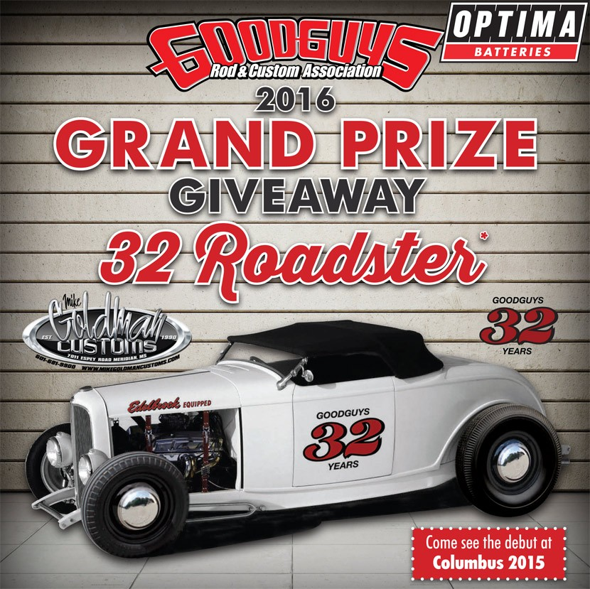 Goodguys Ford Roadster Giveaway Car - Good guys cars