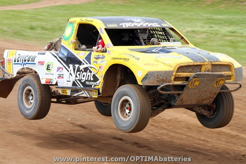 OPTIMA®-sponsored offroad racer, Don Demeny, wins at Bark River