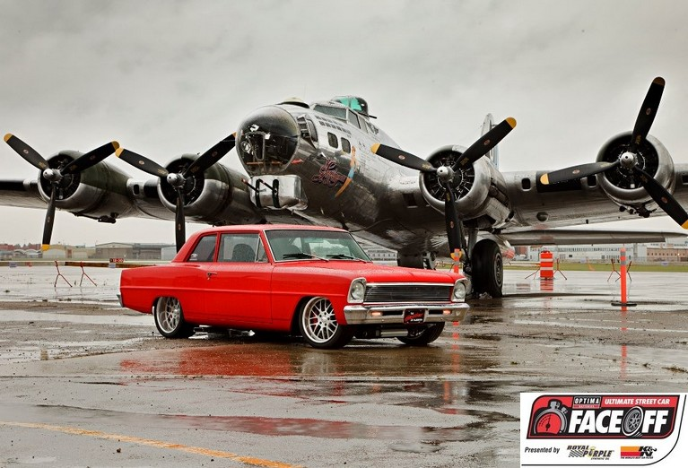 OPTIMA® Faceoff Preview- Grant Reierson's 1966 Chevy II Sedan