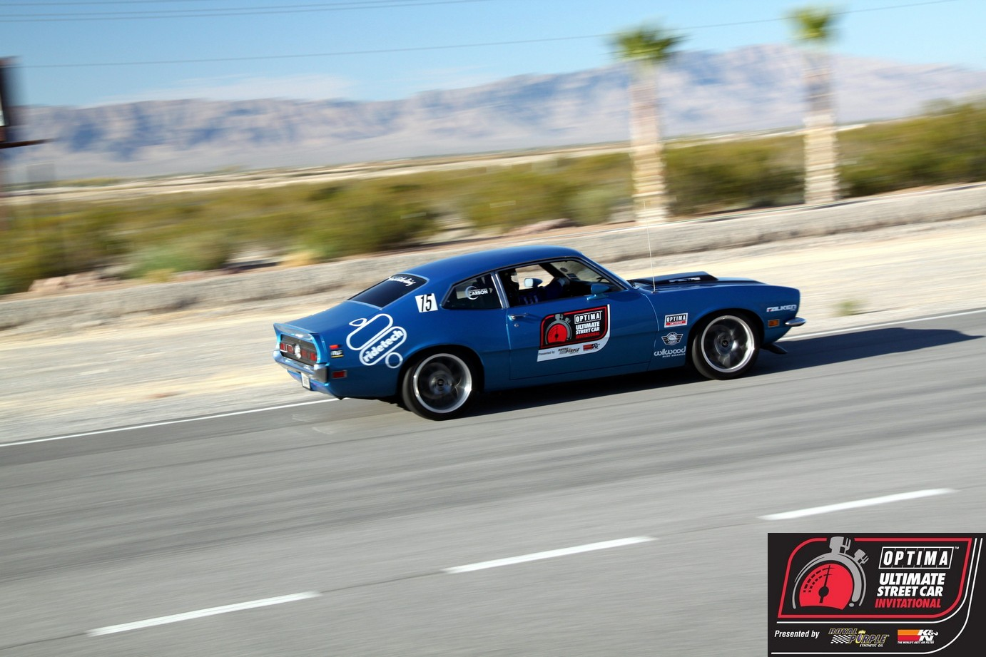 OUSCI Competitor Chris Moore's 1972 Ford Maverick
