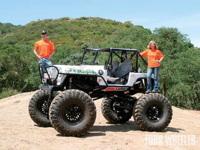 four wheeler magazine s top truck challenge optima batteries