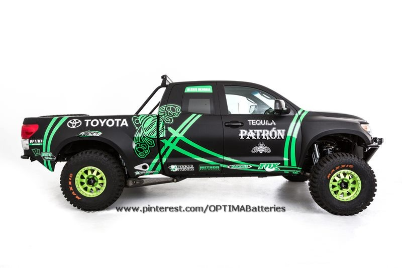 Vote for Alexis DeJoria's #DreamBuild Toyota Tundra Pre-Runner