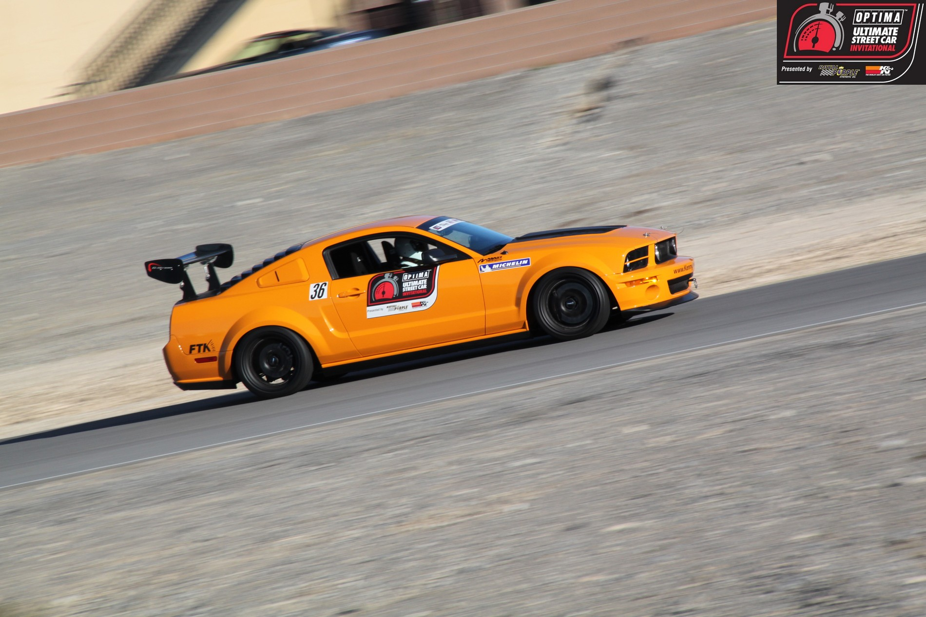 OUSCI Competitor Karl Dunn's 2007 Parnelli Jones Ford Mustang