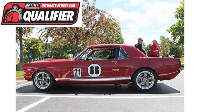 OUSCI Invitee Ken Edwards' 1966 Ford Mustang