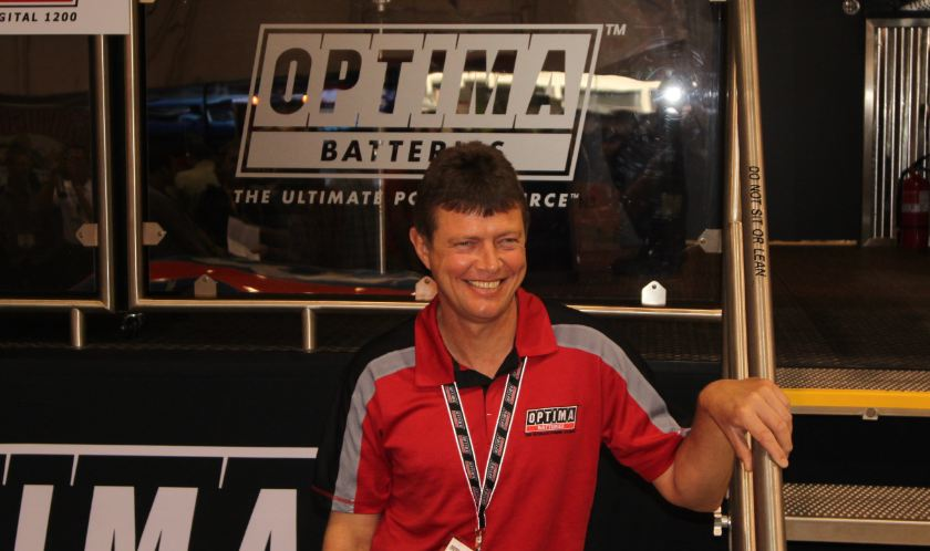 OPTIMA®-sponsored driver, Grubnic's superb driving job nets round win in Phoenix