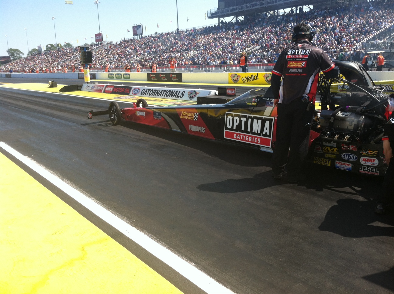 OPTIMA® Batteries to Race Again with Grubnic and Kalitta Motorsports in NHRA Mello Yello Drag Racing Series with Expanded Partnership with Advance Auto Parts
