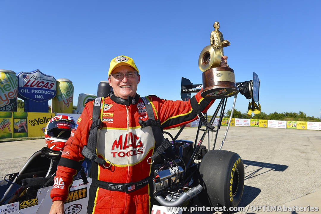 Kalitta Wins NHRA Race in Dallas