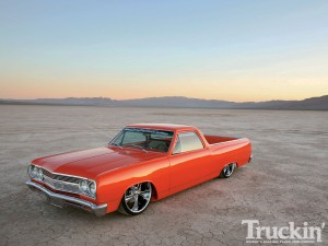 Travis Reif's OPTIMA-powered El Camino up for Truck of the Year