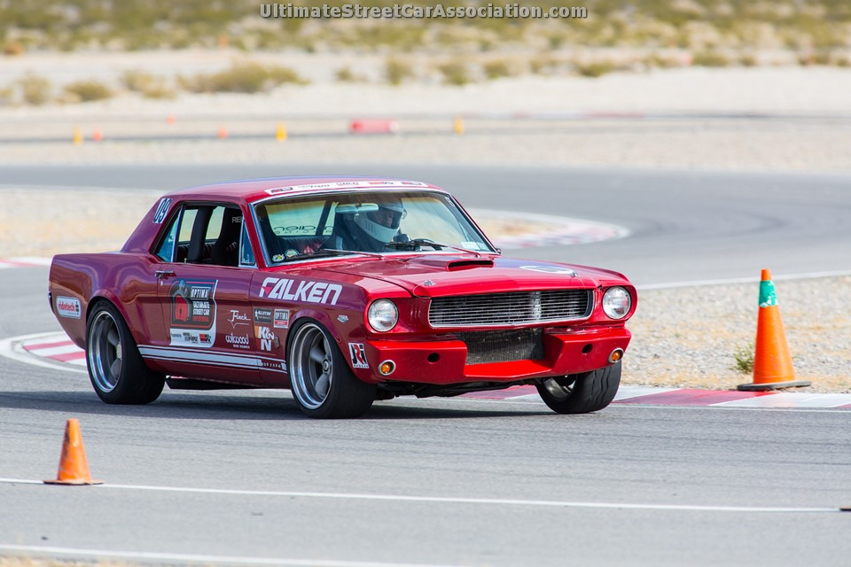 OUSCI Competitor Ken Edwards' 1966 Ford Mustang