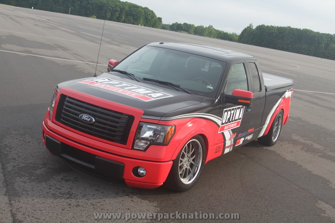 The 2012 OPTIMA® Batteries Ford F-150 Pickup Truck