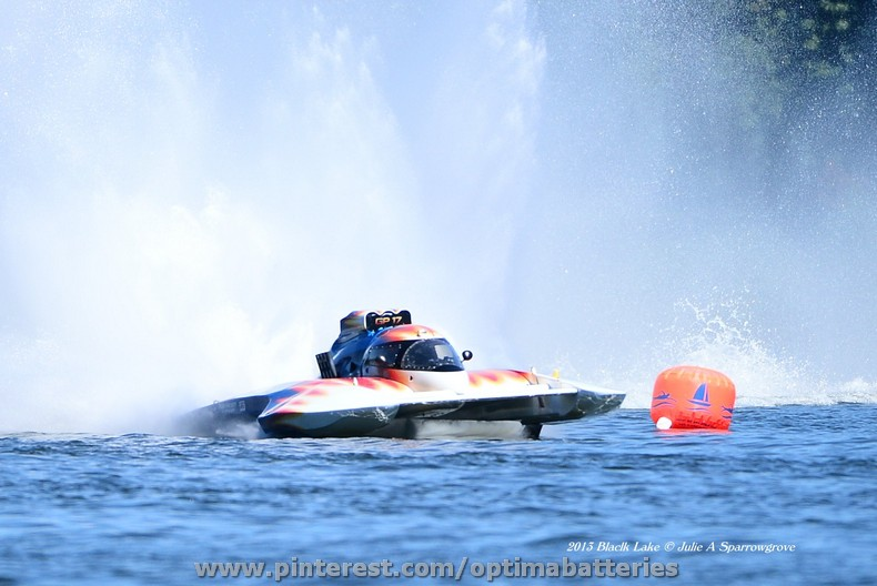 OPTIMA® sponsored Shockwave Hydroplane Wins Again!
