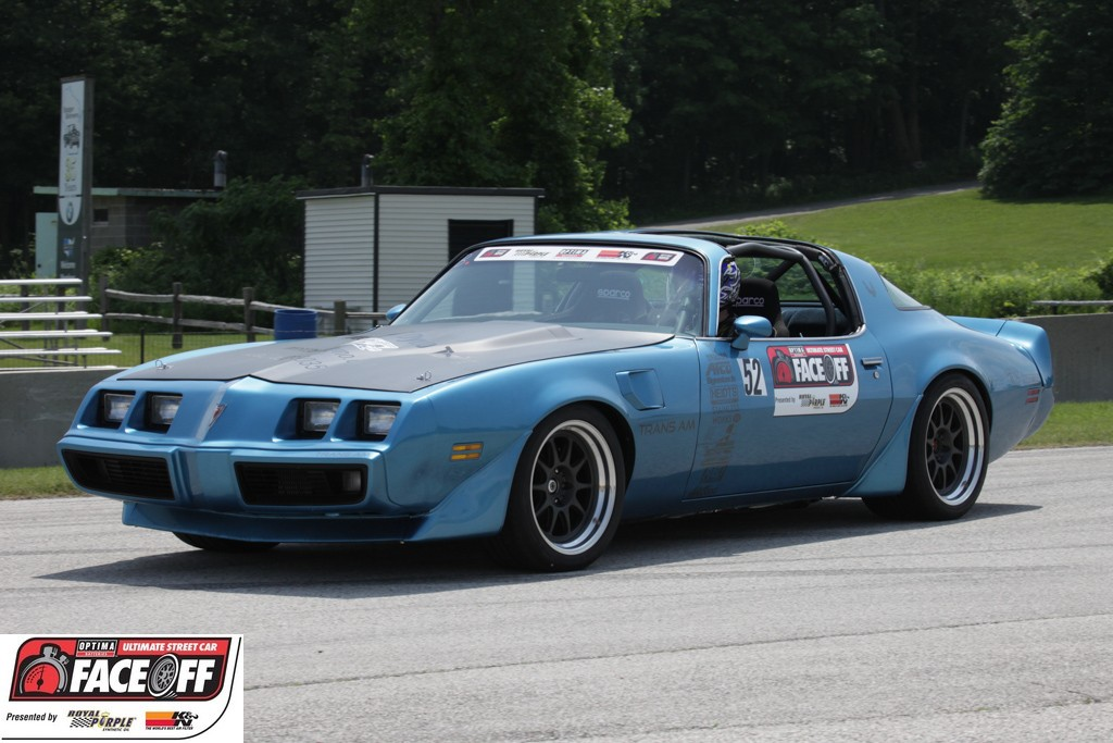 Dennis Prunty drives 1981 Pontiac Trans Am to Win in Ridetech Autocross