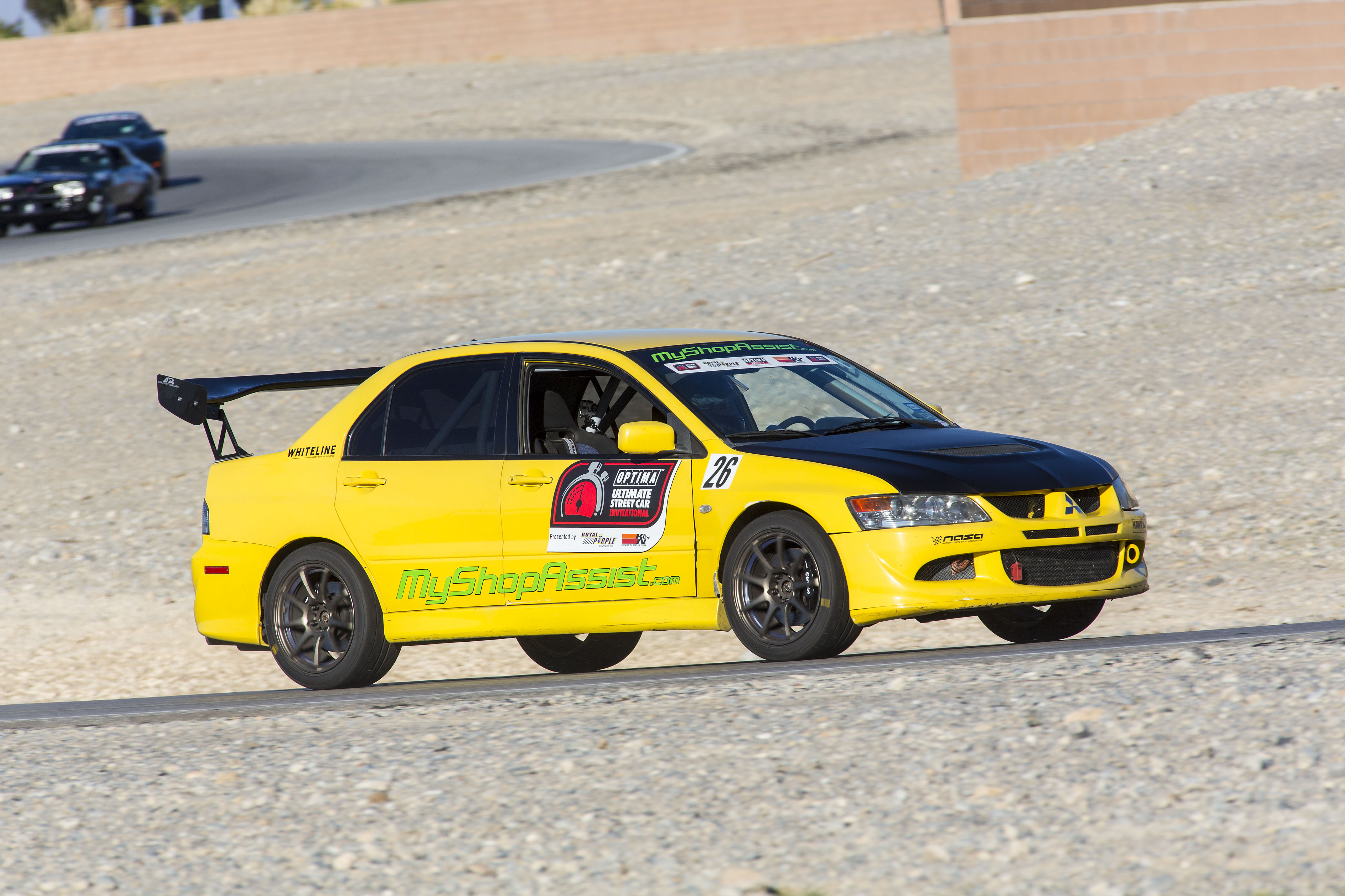 OUSCI Competitor Todd Earsley's 2003 Mitsubishi Lancer Evolution