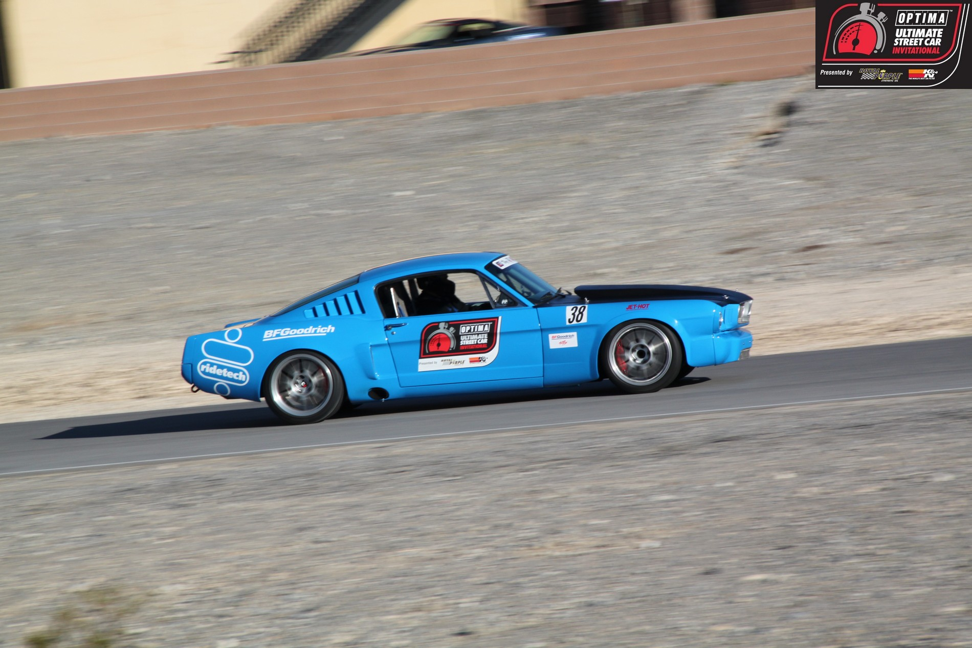 OUSCI Competitor Ron Schwarz & his 1966 Ford Mustang