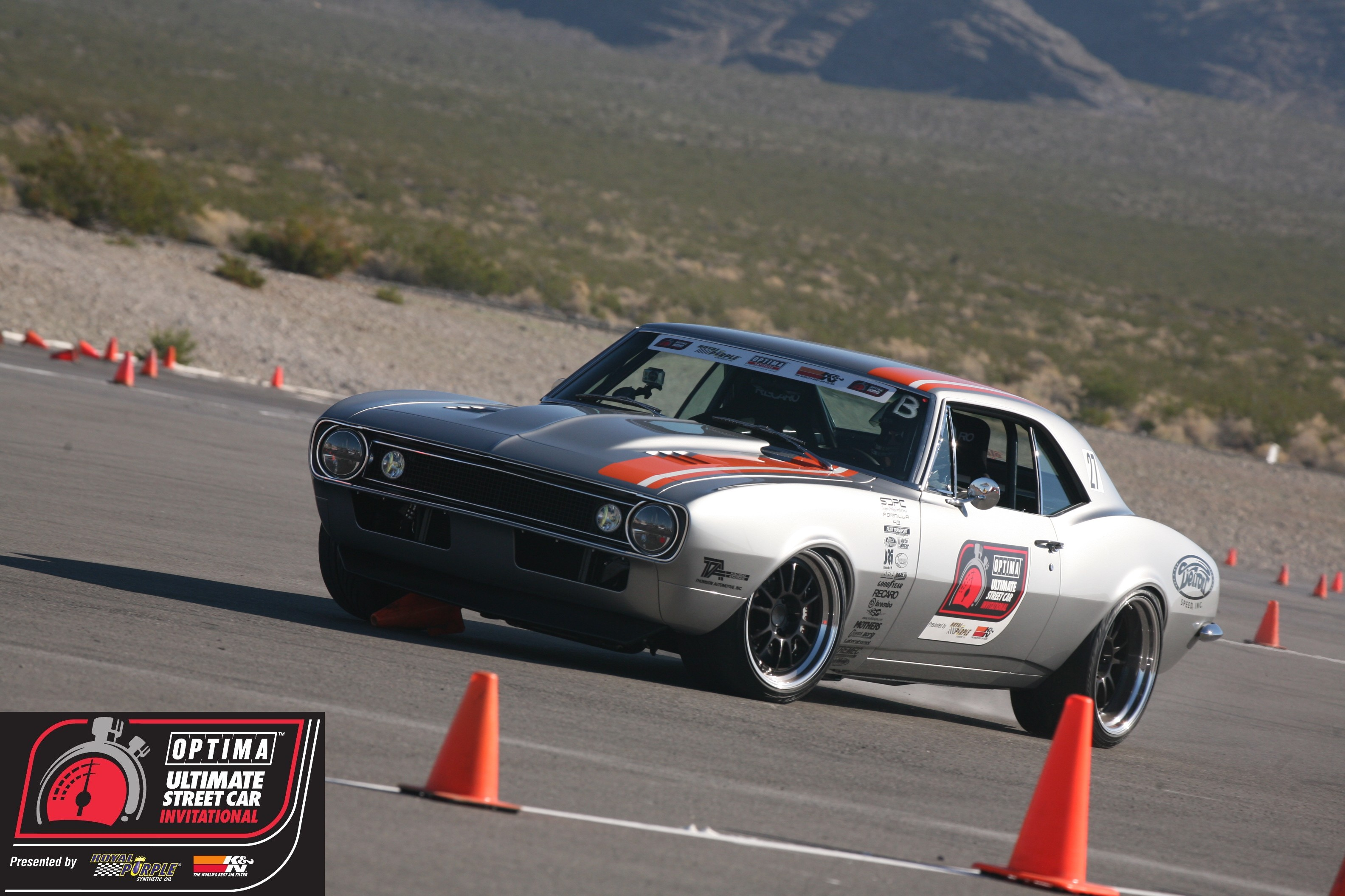 Congratulations to Mark Stielow on winning the RideTech Autocross at the 2012 OUSCI
