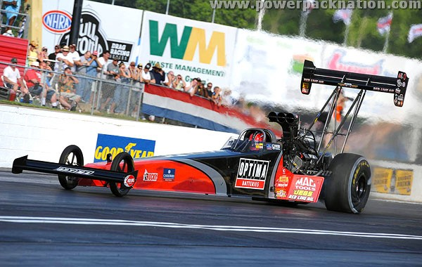 How does a Top Fuel dragster work?