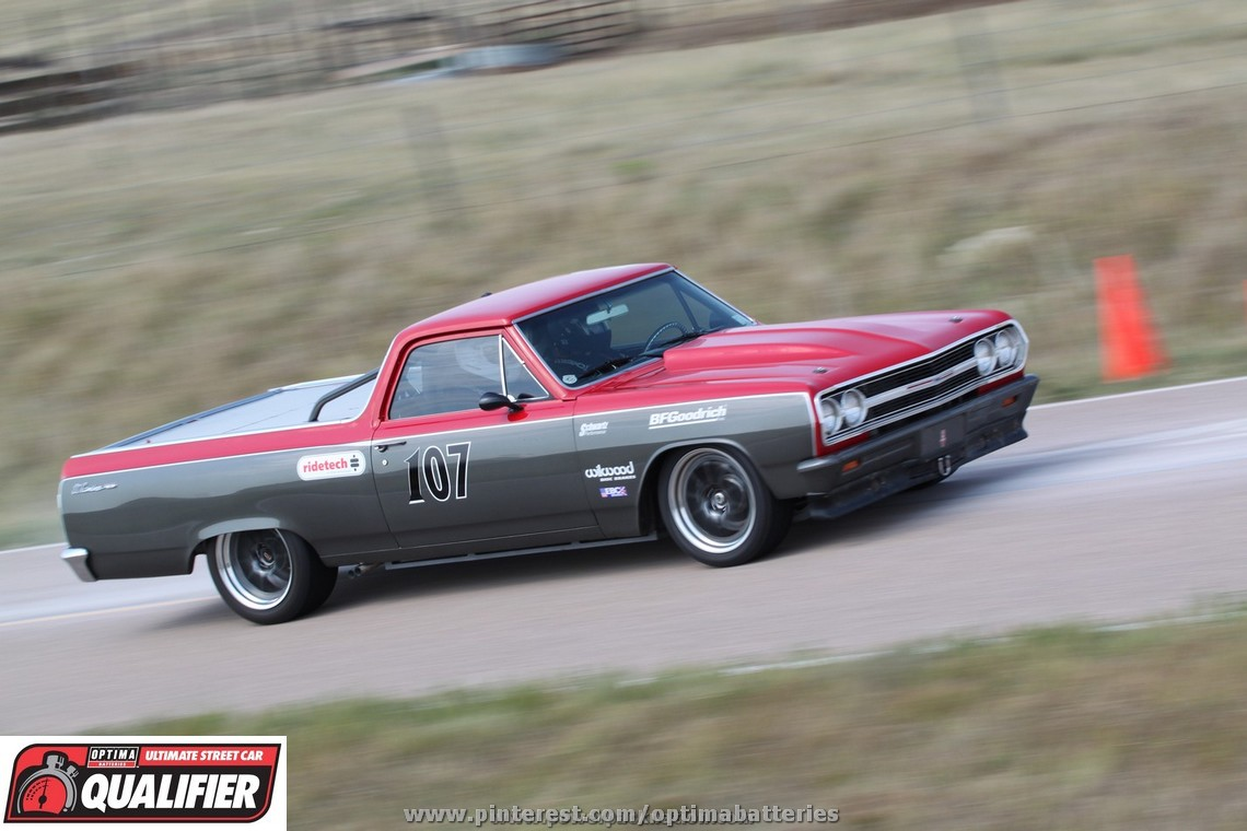 MIKE HOLLEMAN QUALIFIES FOR THE 2013 OPTIMA® ULTIMATE STREET CAR INVITATIONAL IN HIS 1965 EL CAMINO