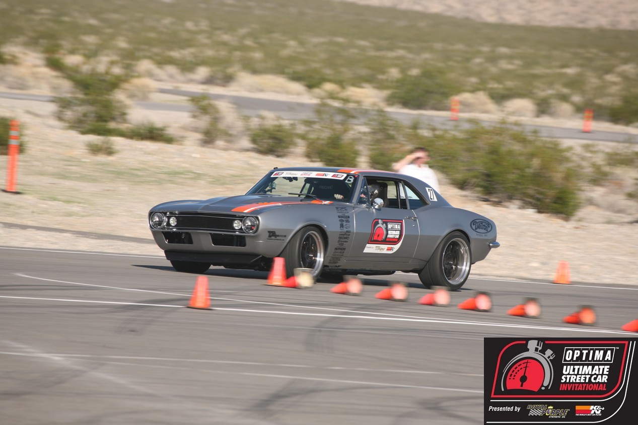 Mark Stielow's Mayhem Camaro Wins the 2012 OPTIMA Ultimate Street Car Invitational