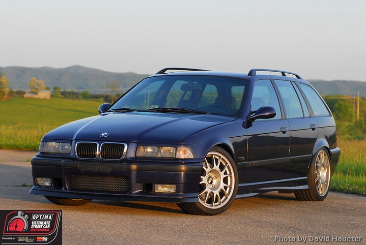 2013 OUSCI Preview- James Clay's 1996 BMW 320i Touring Wagon