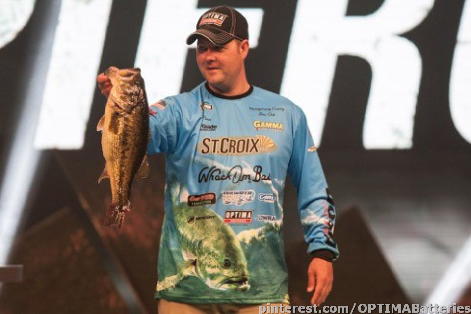 OPTIMA® BLUETOP® Batteries Power Mark Pierce to the Largest Catch at Bassmaster Classic