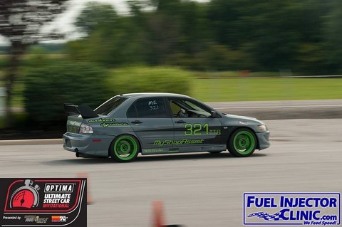 2013 OUSCI Preview- Todd Earsley's 2003 Mitsubishi Lancer Evo VIII