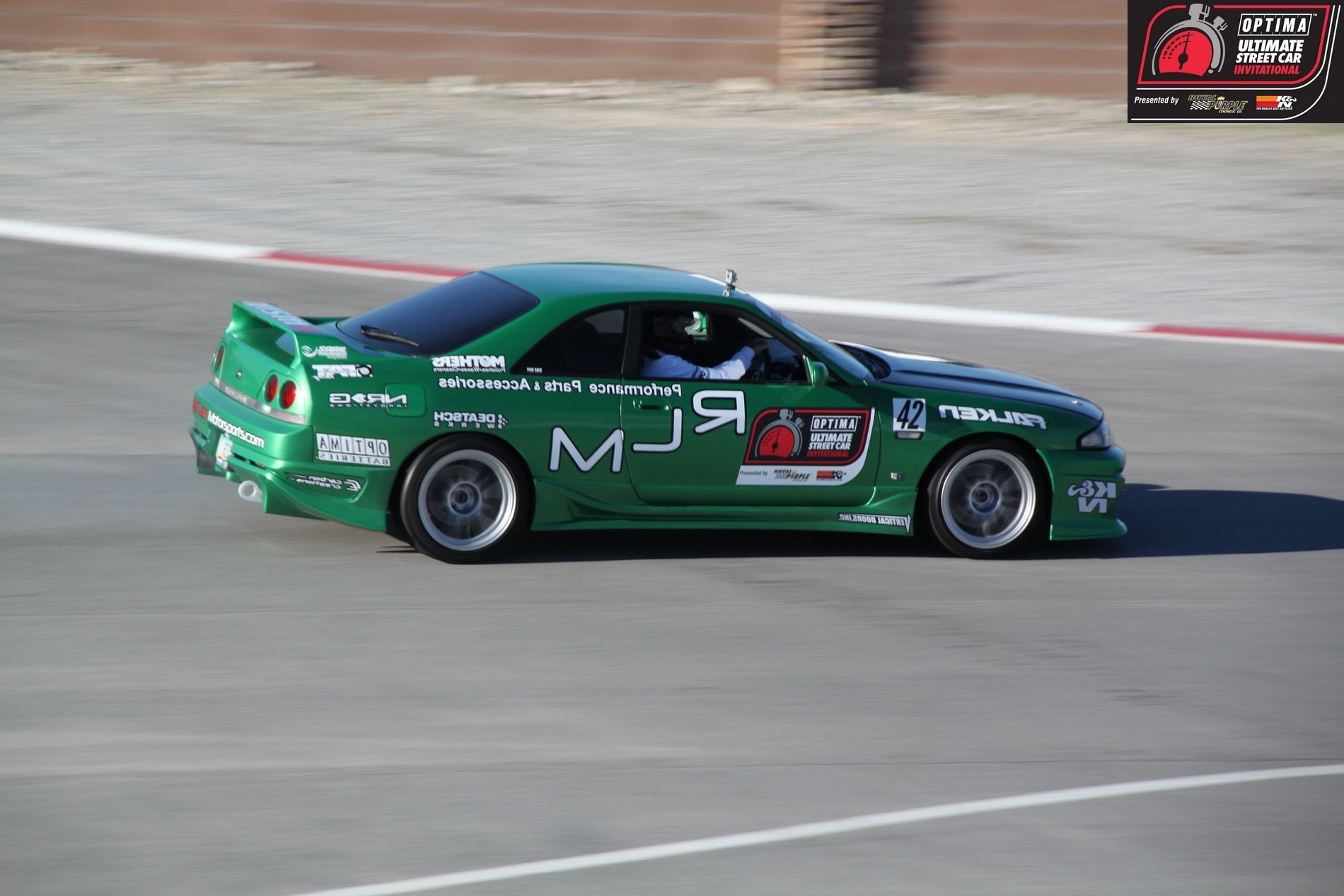 OUSCI Competitor Ben Therrien's 1995 Nissan Skyline