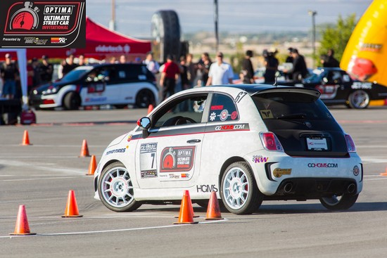 OUSCI Competitor Chris Frick's 2012 Fiat 500 Abarth