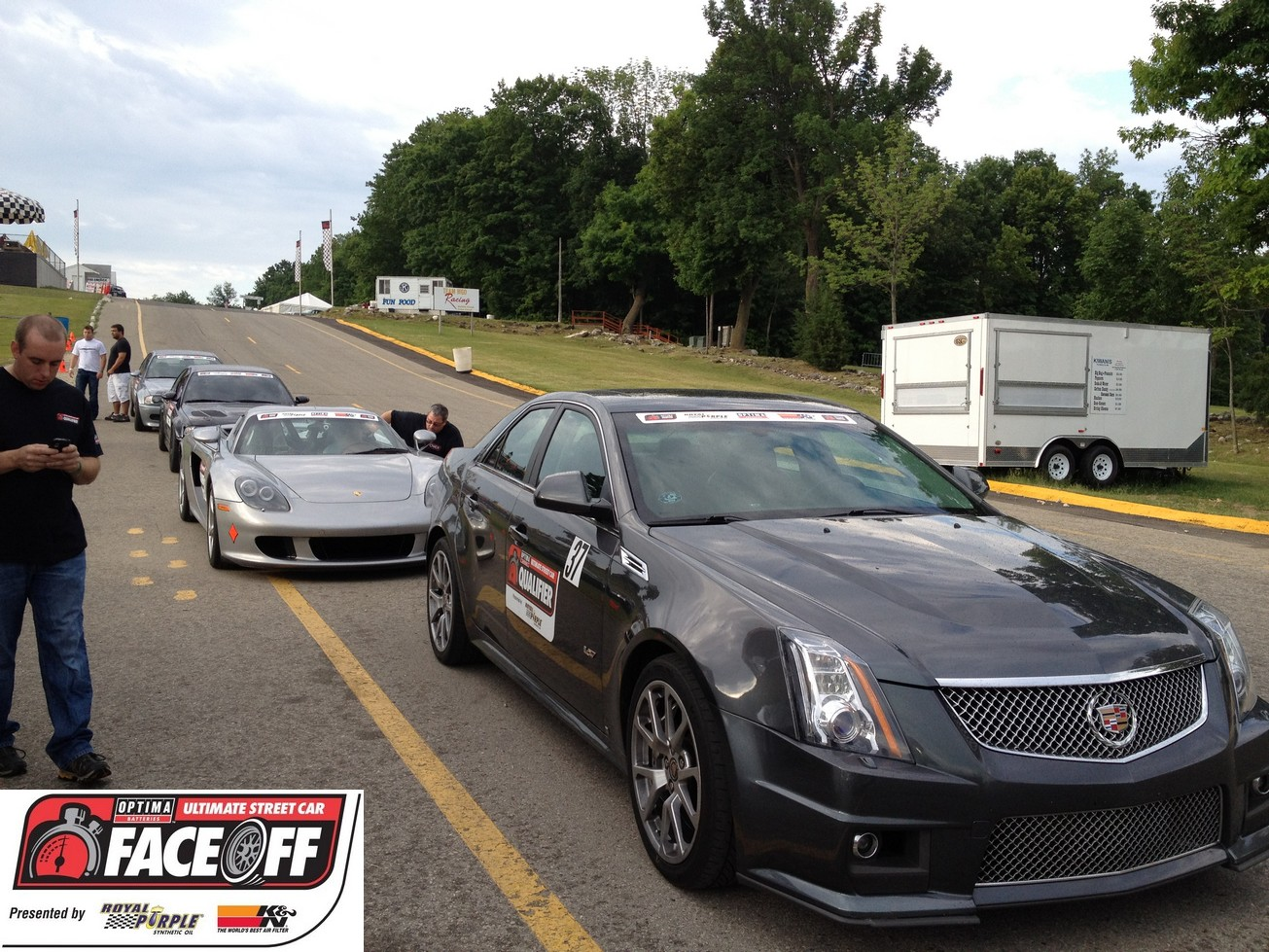 OPTIMA® Faceoff Preview- Peter Devereaux's 2009 Cadillac CTS-V