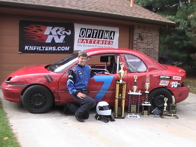 Congratulations to OPTIMA-sponsored racer, Kyle Crump