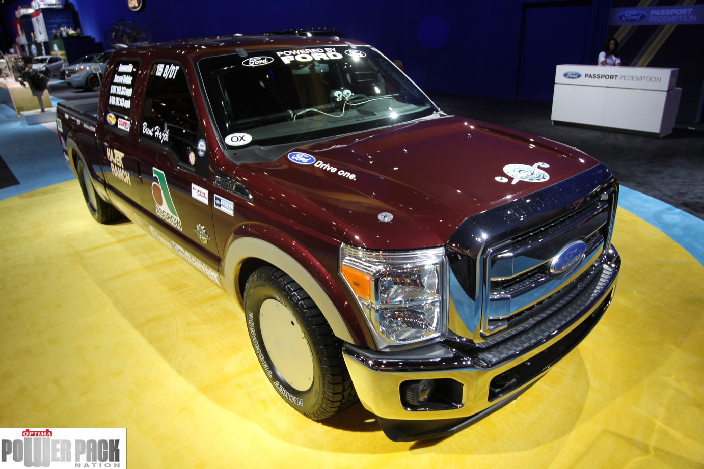 The World's Fastest F-250 Starts With An OPTIMA