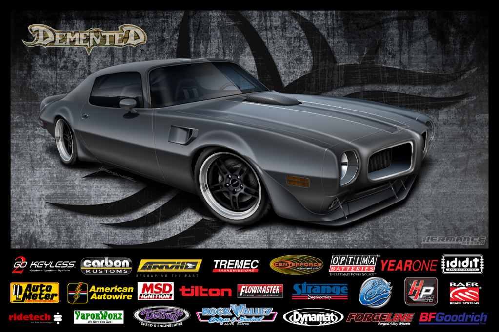 Goldberg is building a killer Trans-Am!
