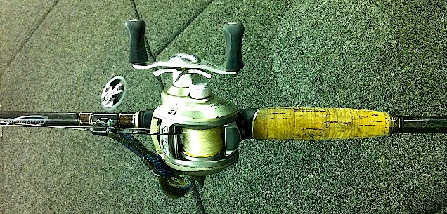 We can't offer you Clapton's Stratocaster, but how about Edwin Evers' Baitcaster?