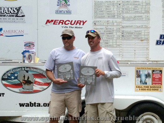 OPTIMA® Batteries Pro Edwin Evers Takes Second Place at  WABTA Rock Lake Event