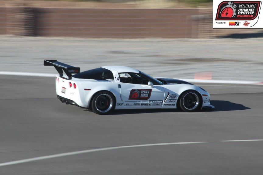 Danny Popp wins 2011 OPTIMA Ultimate Street Car Invitational  in his 2006 Chevrolet Corvette Z06