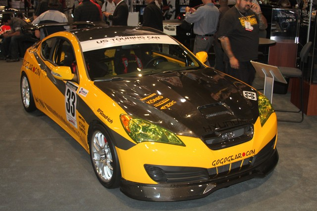 What Can We Tell You About the GoGoGear.com Racing Hyundai Genesis?