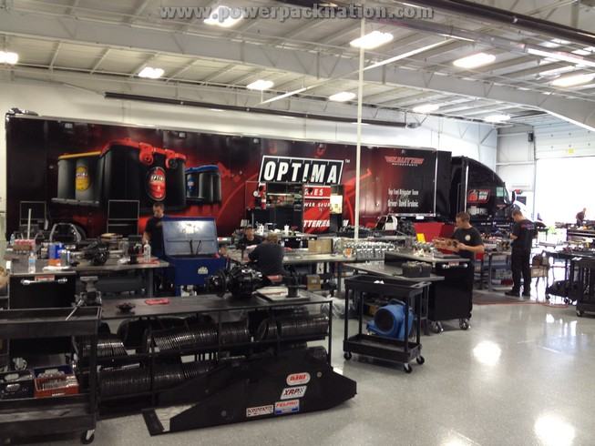 Kalitta Motorsports- The Shop Tour