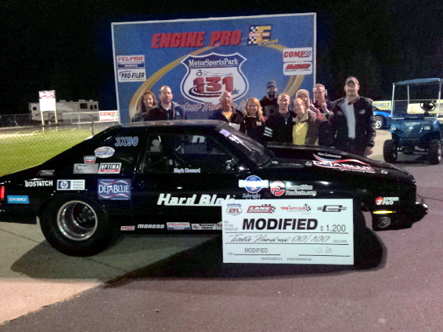 OPTIMA-sponsored HARD BLOK/DejaBlue Mustang Wins!