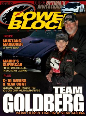 The Goldbergs & OUSCI Coverage in Powerblock Magazine