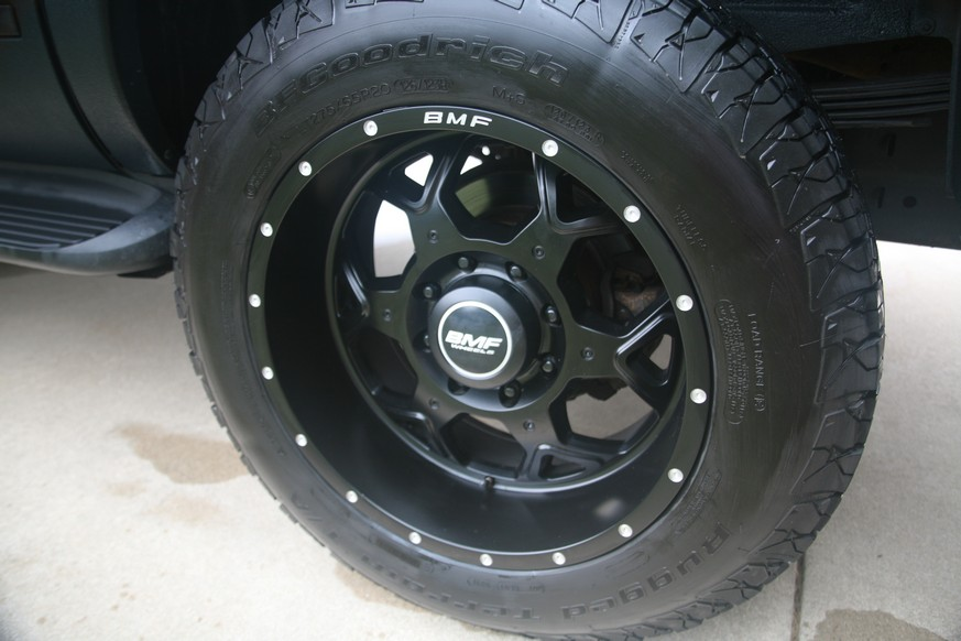A Closer Look at the OPTIMA Batteries Power Pack Nation Ford Excursion- BMF Wheels