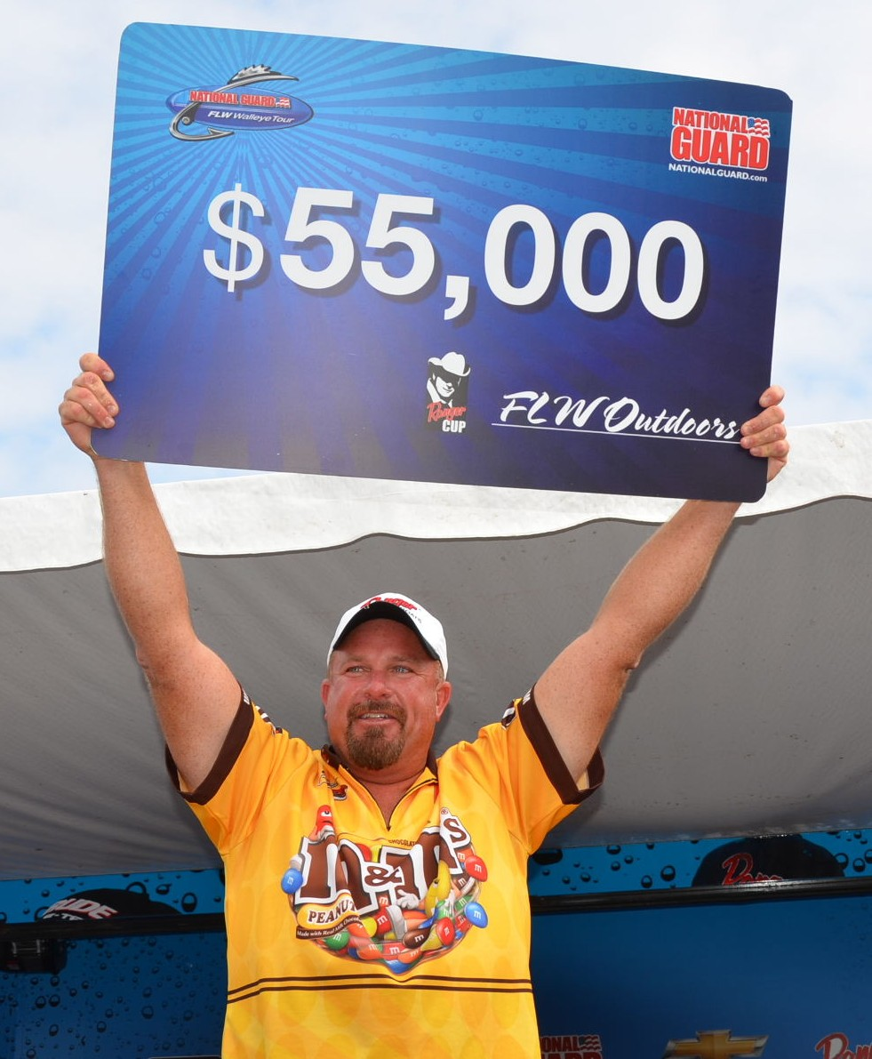 OPTIMA Angler, Steve Paulsen Hits The Jackpot!