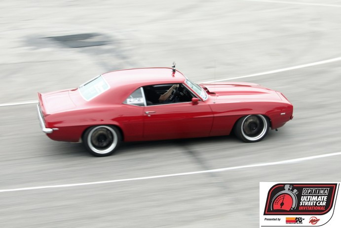 2011 OPTIMA Ultimate Street Car Invitational Preview- Mark Stielow's Red Devil Camaro