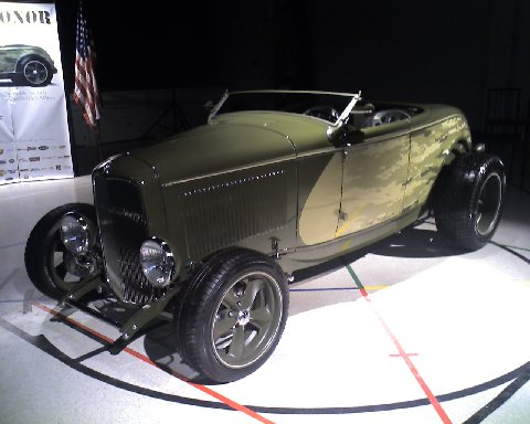 The Ironmen Foundation's Metal of Honor '32 Coupe