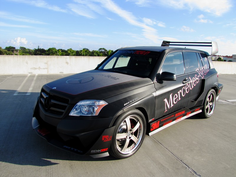 OPTIMA Powers the RENNtech GLK350 Project Car