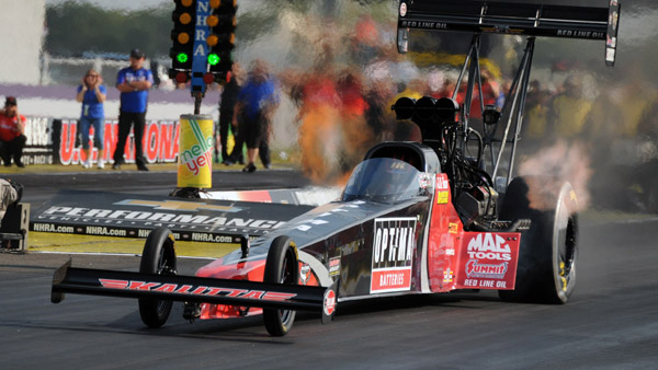 J.R. Todd Clinches Spot In NHRA Countdown
