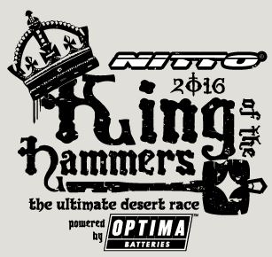 2016 Nitto King of The Hammers to Be Powered by OPTIMA Batteries