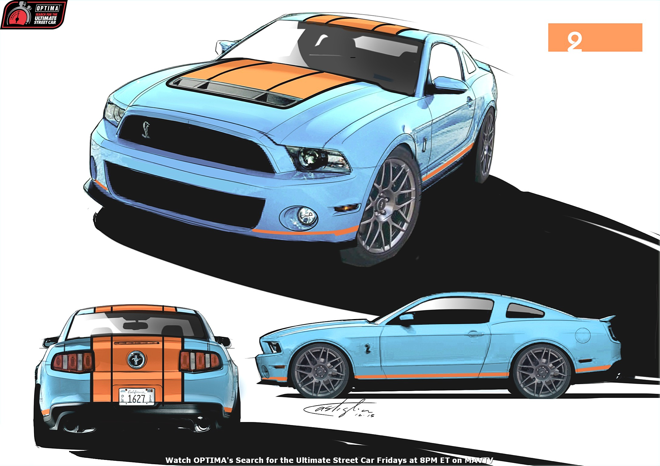 2014 OUSCI Preview- Matt Alcala's 2012 Ford Mustang GT500