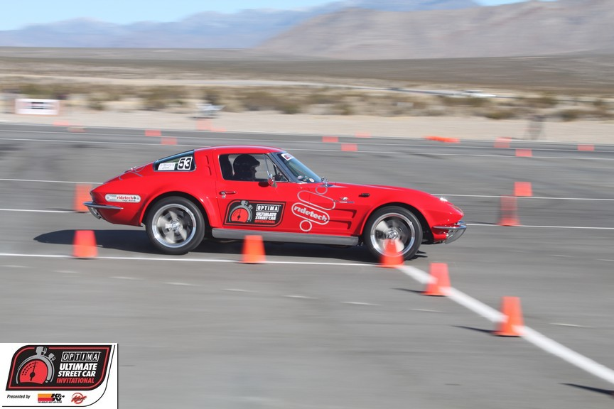 OUSCI Competitor Mark Rife's '63 Split Window Corvette