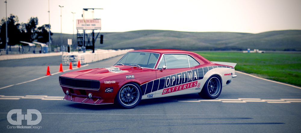 One Lap Camaro wins class at One Lap of America