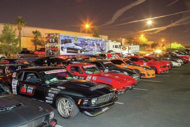 LATE-MODEL MUSTANGS TAKE ON THE WORLD AT THE 2014 OPTIMA ULTIMATE STREET CAR INVITATIONAL